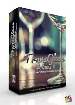 Final Cut Pro X Plugin TransGlass Volume 2 from Pixel Film Studios