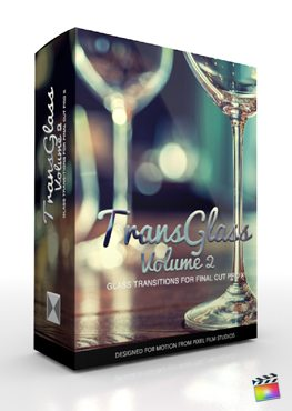 Final Cut Pro X Plugin TransGlass Volume 2 from Pixel Film Studios