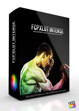 Final Cut Pro X Plugin FCPX LUT Intense from Pixel Film Studios