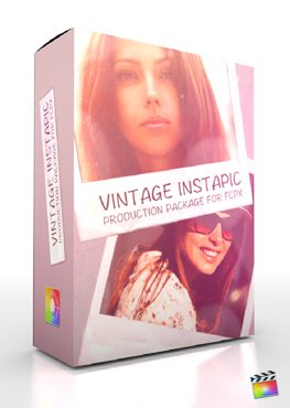 Final Cut Pro X Plugin Production Package VIntage Instapic from Pixel Film Studios