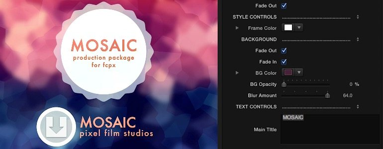 Professional - Stylized Environment Themes for Final Cut Pro X