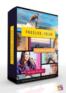 Final Cut Pro X Plugin ProSlice Color from Pixel Film Studios