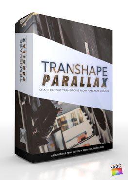 Final Cut Pro X Plugin TranShape Parallax from Pixel Film Studios