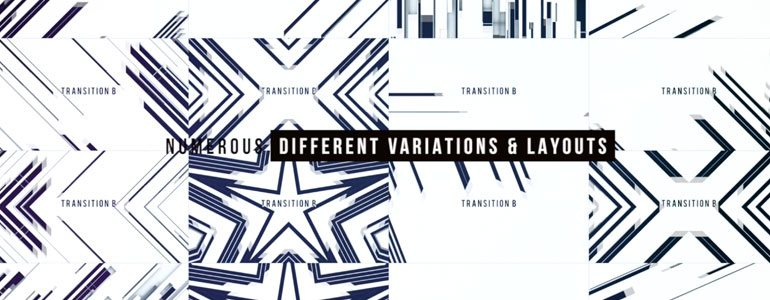 Professional - TransBlock Abstract - Stylistic Transitions with TransBlock Abstract for FCPX from Pixel Film Studios