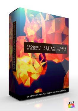 Final Cut Pro X Plugin ProDrop Abstract Orbs from Pixel Film Studios