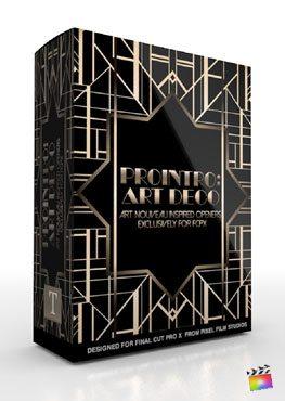 Final Cut Pro X Plugin ProIntro Art Deco from Pixel Film Studios