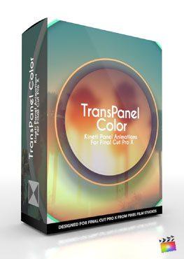 Final Cut Pro X Plugin TransPanel Color from Pixel Film Studios