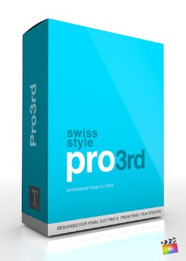 Final Cut Pro X Plugin Pro3rd Swiss Style from Pixel Film Studios