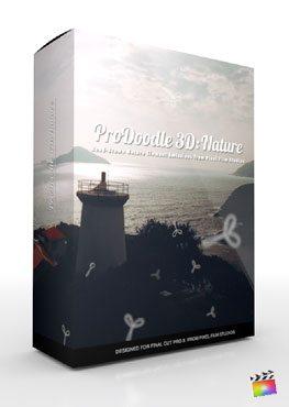 Final Cut Pro X Plugin ProDoodle 3D Nature from Pixel Film Studios