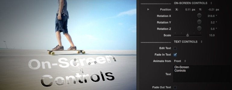 Professional - Text Distortion Effects for Final Cut Pro X