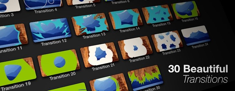 Professional - Hand-Drawn Transitions for Final Cut Pro X