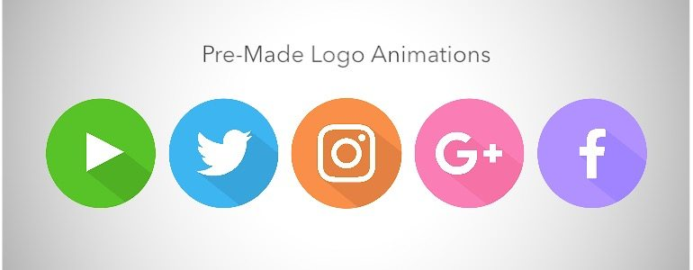 Professional - Animated Social Media Icons for Final Cut Pro X