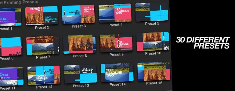 TransWall Dynamic - Media Wall Transitions for FCPX from Pixel Film Studios