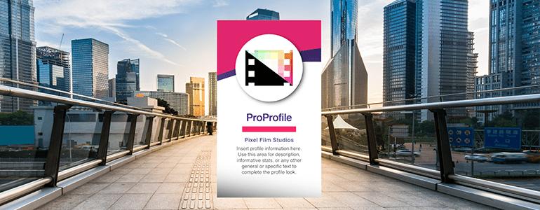 Professional - Profiles - for Final Cut Pro X