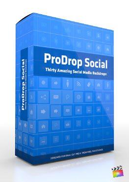 Final Cut Pro X Plugin ProDrop Social from Pixel Film Studios