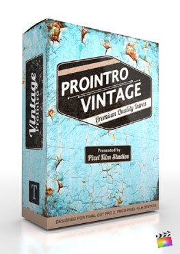 Final Cut Pro X Plugin ProIntro Vintage from Pixel Film Studios