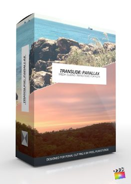 TranSlide: Parallax - Angular Media Sliding Transitions for FCPX from Pixel Film Studios