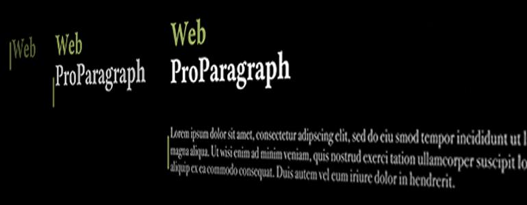 Final Cut Pro X Plugin ProParagraph: Web from Pixel Film Studios