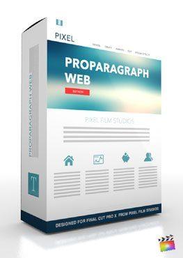 Final Cut Pro X Plugin ProParagraph Web from Pixel Film Studios