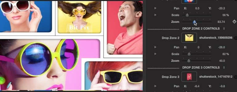 Professional - Slideshow Collage Themes for Final Cut Pro X