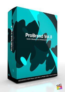 Final Cut Pro X Plugin ProBrand Reveal Volume 8 from Pixel Film Studios