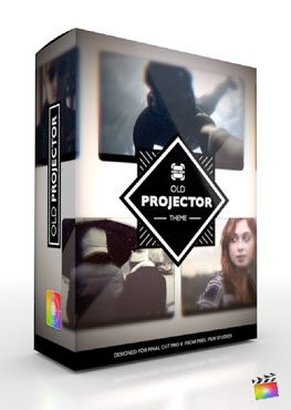 Final Cut Pro X Plugin Production Package Old Projector from Pixel Film Studios
