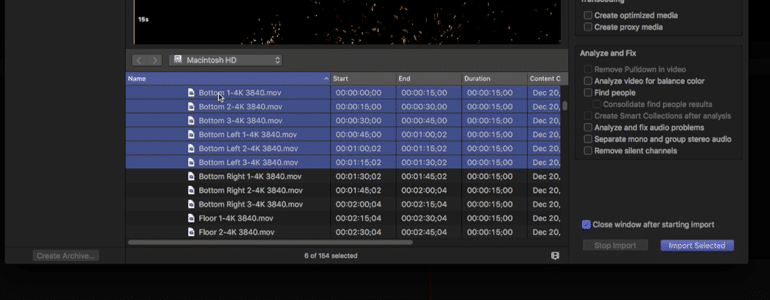 Final Cut Pro X Plugin ProEmbers 4K