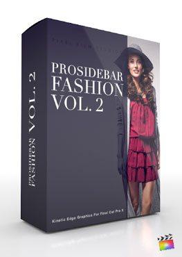 Final Cut Pro X Plugin Prosidebar Fashion Volume 2 from Pixel Film Studios