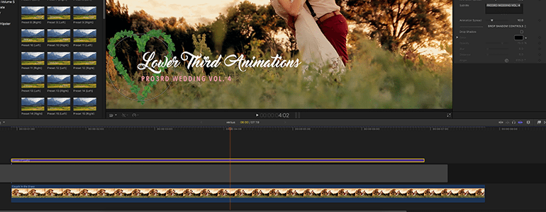 Animating Lower Thirds for FCPX