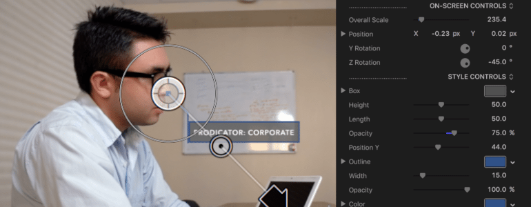 ProDicator Corporate - Indicator Titles for Final Cut Pro X - for Final Cut Pro X from Pixel Film Studios