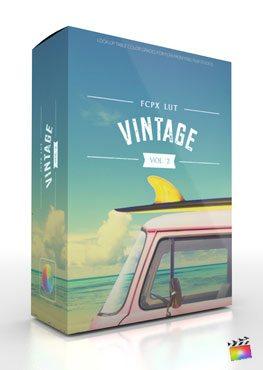 Final Cut Pro X Plugin FCPX LUT Vintage Volume 2 from Pixel Film Studios