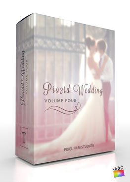 Final Cut Pro X Plugin Pro3rd Wedding Volume 4 from Pixel Film Studios