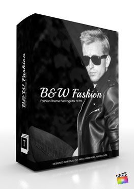 Final Cut Pro X Production Package B&W Fashion from Pixel Film Studios