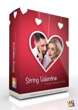 Final Cut Pro X Plugin String Valentine from Pixel Film Studios
