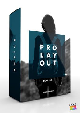 Final Cut Pro X Plugin ProLayout Basics from Pixel Film Studios