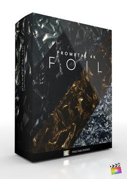 Final Cut Pro X Plugin ProMetal 4K Foil from Pixel Film Studios