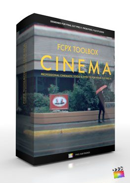 Final Cut Pro X Plugin FCPX Toolbox Cinema from Pixel Film Studios