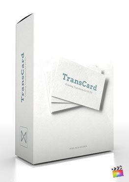 Final Cut Pro X Transition Transcard from Pixel Film Studios