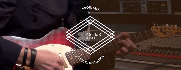 Final Cut Pro X Plugin ProIntro Web Hipster Volume 2 from Pixel Film Studios