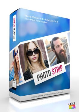 Final Cut Pro X Production Package Photo Strip from Pixel Film Studios