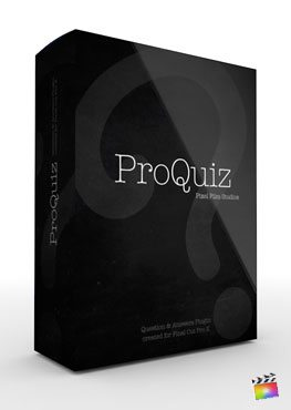 Final Cut Pro X Plugin ProQuiz from Pixel Film Studios