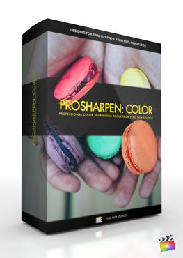 Final Cut Pro X Plugin ProSharpen Color from Pixel Film Studios