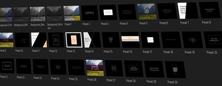 Professional Quotes for FCPX
