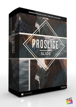 Final Cut Pro X Plugin ProSlice Slide from Pixel Film Studios
