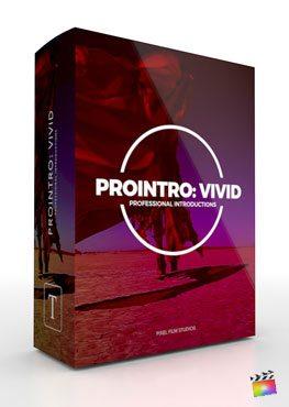 Final Cut Pro X Plugin ProIntro Vivid from Pixel Film Studios