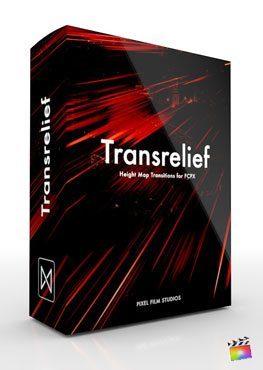 Final Cut Pro X Transition TransRelief from Pixel Film Studios
