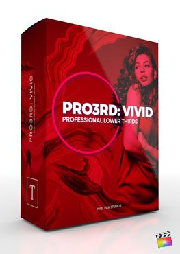Final Cut Pro X Plugin Pro3rd Vivid from Pixel Film Studios