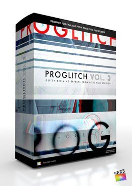 Final Cut Pro X Plugin ProGlitch Volume 3 from Pixel Film Studios