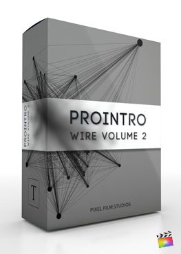 Final Cut Pro X Plugin ProIntro Wire Volume 2 from Pixel Film Studios