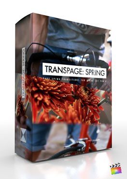Final Cut Pro X Transition Transpage Spring from Pixel Film Studios